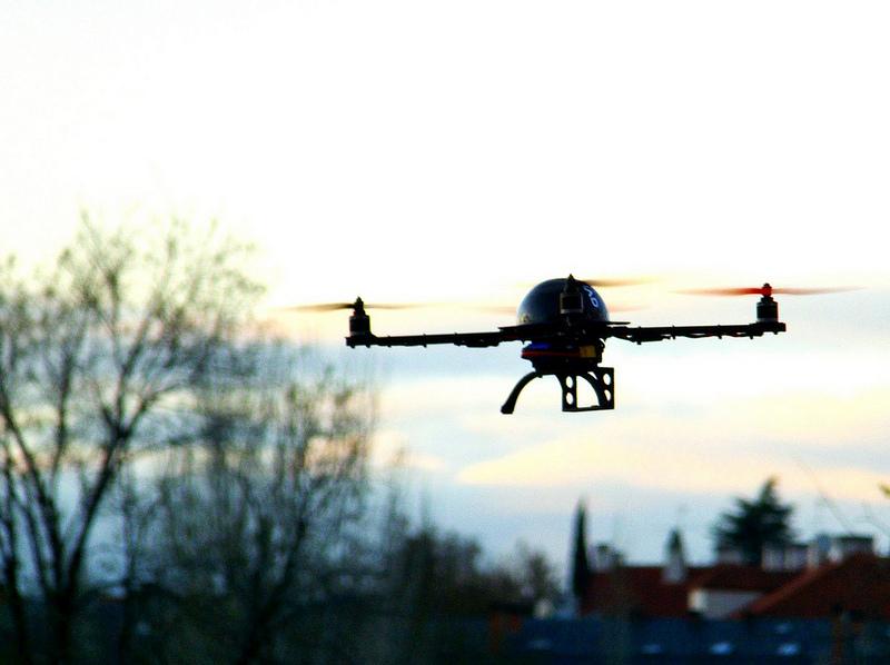 Field service drones