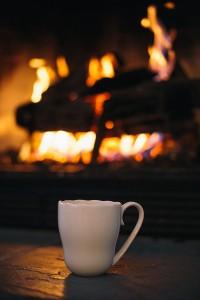 A relaxing fire