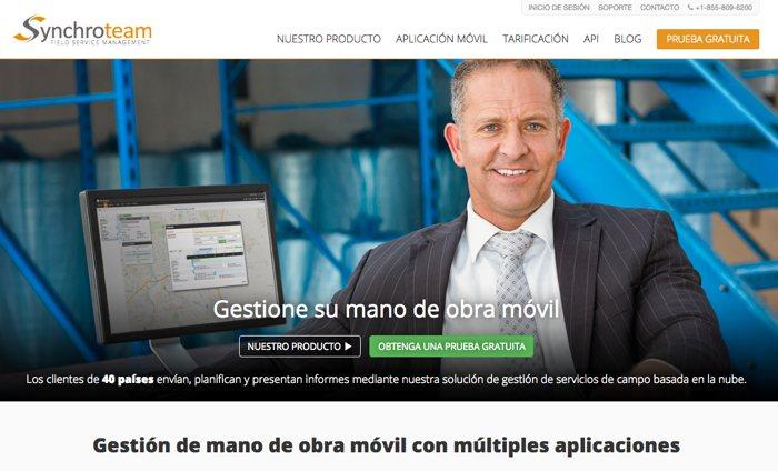 Synchroteam, gestión de servicios