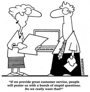 La atención al cliente en servicio técnico