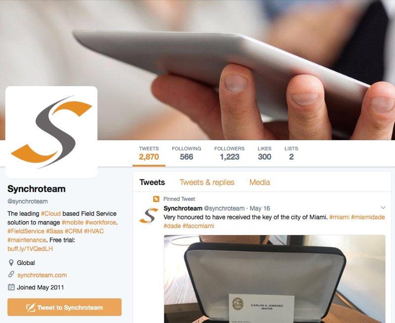 Empresas de servicios y Twitter: 6 tips básicos